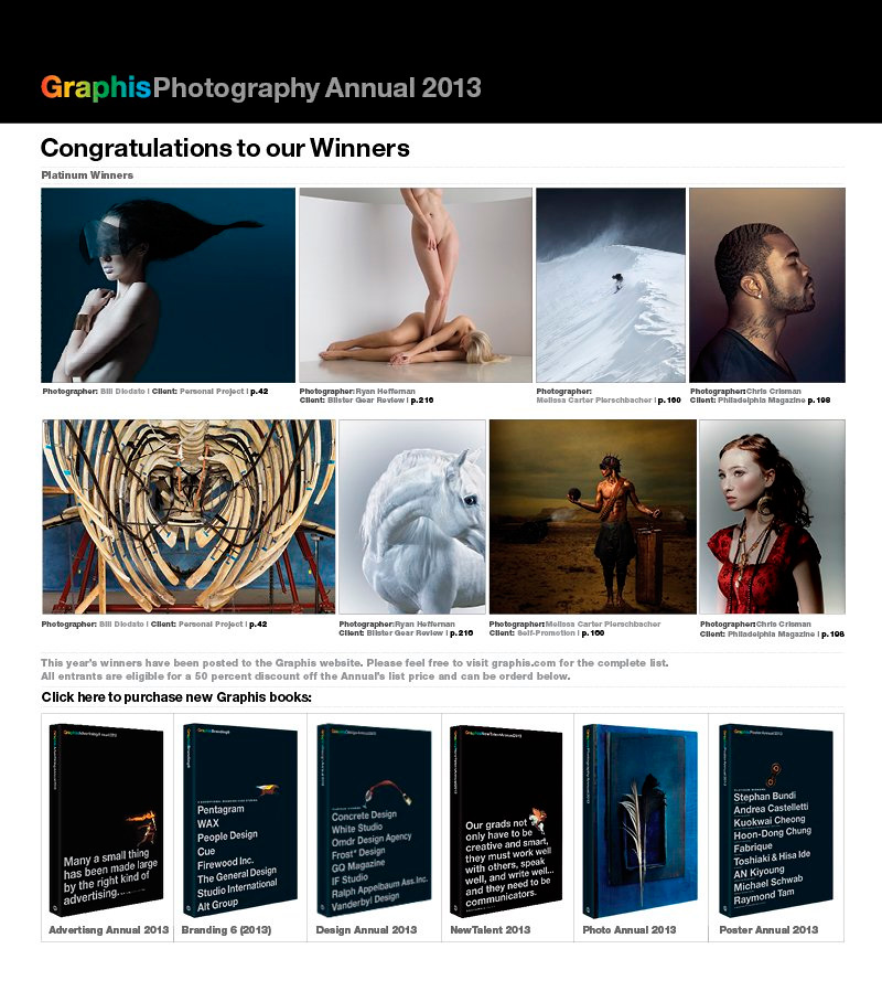 Graphis Photography Annual 2013